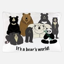 Bears world Pillow Case