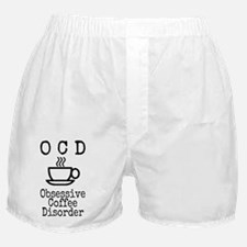 OCD - Obsessive Coffee Disorder Boxer Shorts