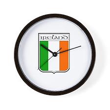Ireland Shield Wall Clock