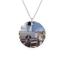 german wirehaired pointers Necklace