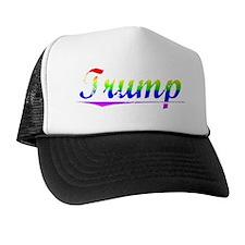 Trump, Rainbow, Trucker Hat
