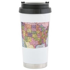 usamap Travel Mug