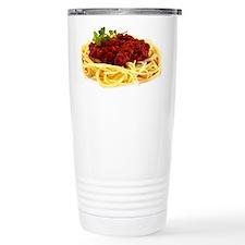 spaghetti Travel Coffee Mug