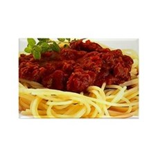 spaghetti Rectangle Magnet