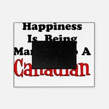 Happiness Married To Canadian Picture Frame