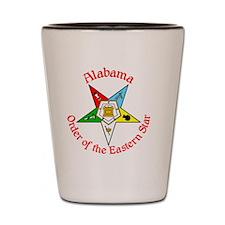 Alabama Eastern Star Shot Glass