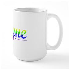 Wayne, Rainbow, Mug