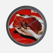 MeatPoster Wall Clock