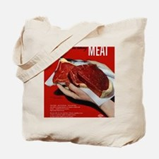 MeatPoster Tote Bag