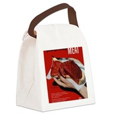 MeatPoster Canvas Lunch Bag