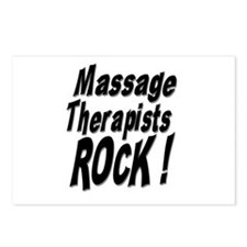 Massage Therapists Rock ! Postcards (Package of 8)