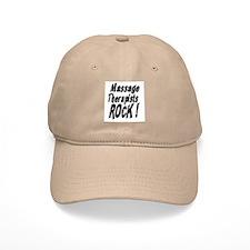 Massage Therapists Rock ! Baseball Cap