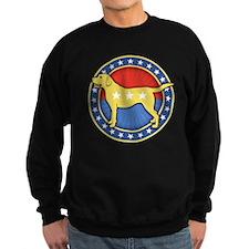 yellow-dog-T Sweatshirt