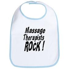 Massage Therapists Rock ! Bib