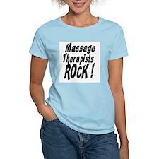 Massage Therapists Rock ! T-Shirt