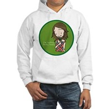 """I'm feeling lucky today"" Hoodie"
