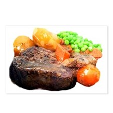 pot roast Postcards (Package of 8)