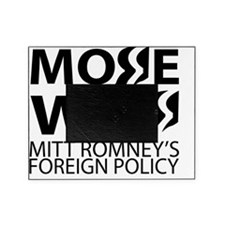 Obama and Romney Foreign Policy Diff Picture Frame