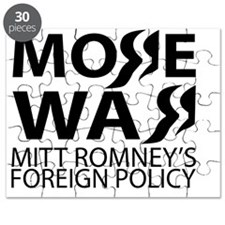 Obama and Romney Foreign Policy Difference Puzzle