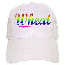 Wheat, Rainbow, Baseball Cap