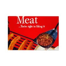 meatposter Rectangle Magnet