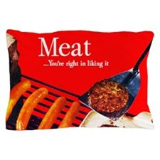 meatposter Pillow Case