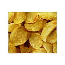 potatochips Throw Blanket