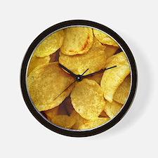 potatochips Wall Clock