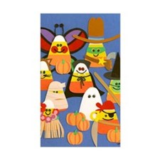 Candy Corn on Parade Decal