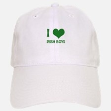 I love (heart) irish boys Baseball Baseball Cap