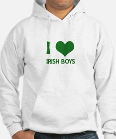 I love (heart) irish boys Jumper Hoodie