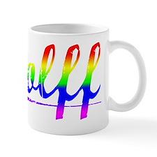 Wolff, Rainbow, Mug