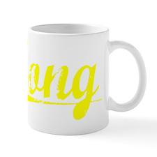Tong, Yellow Mug