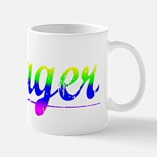 Yeager, Rainbow, Mug