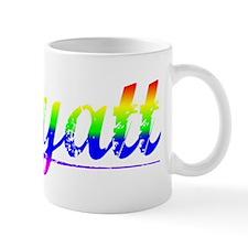 Wyatt, Rainbow, Mug