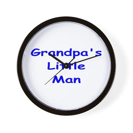 Grandpa's Little Man Wall Clock