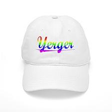 Yerger, Rainbow, Baseball Cap