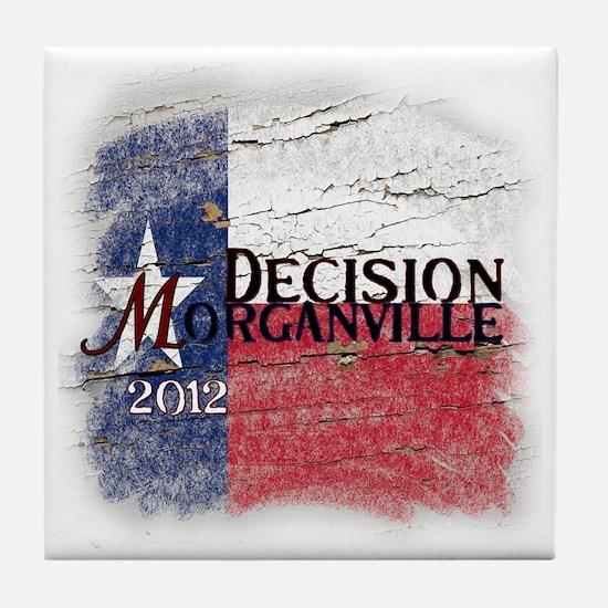 Decision Morganville 2012 Tile Coaster