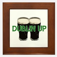 Dublin Up  Framed Tile