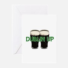 Dublin Up  Greeting Cards (Pk of 10)