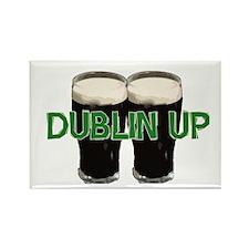 Dublin Up Rectangle Magnet (100 pack)
