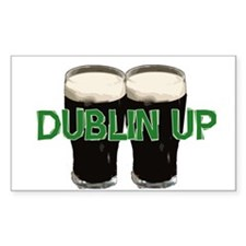 Dublin Up Rectangle Decal