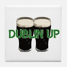 Dublin Up  Tile Coaster
