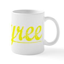 Tyree, Yellow Small Mug