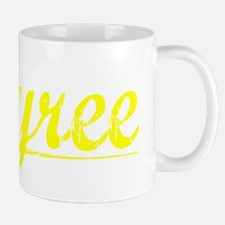 Tyree, Yellow Small Small Mug