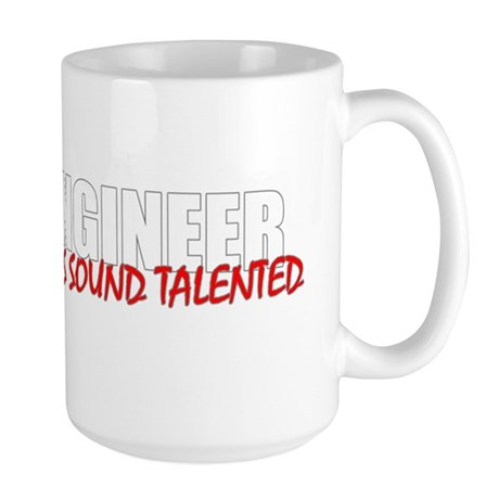 Audio Engineer Large Mug