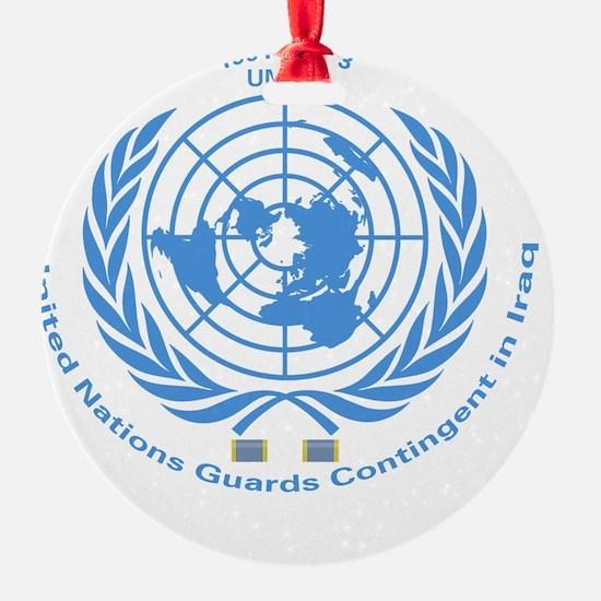UNGCI Blue logo Ornament
