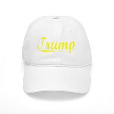 Trump, Yellow Baseball Cap
