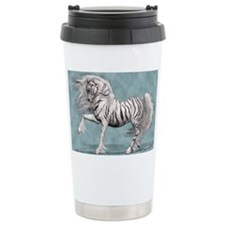 White Tiger Unicorn Thermos Mug