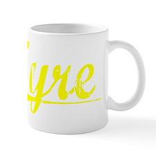 Tyre, Yellow Small Mug